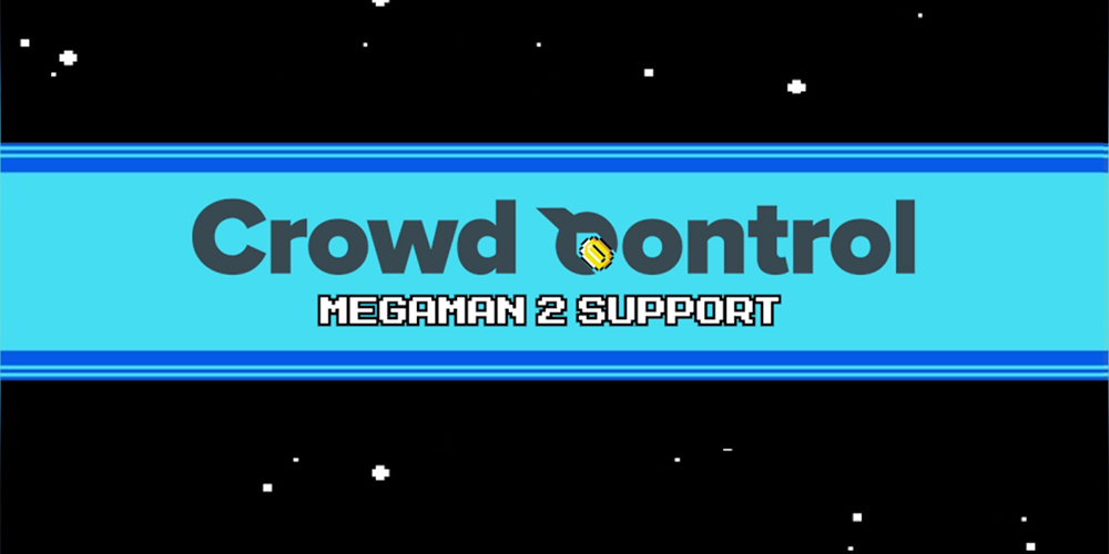 Mega Man Crowd Control Splash