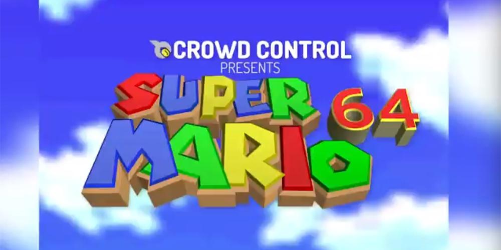 Crowd Control Presents Super Mario 64