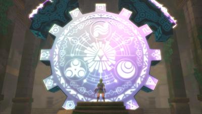 Skyward Sword Gate of Time